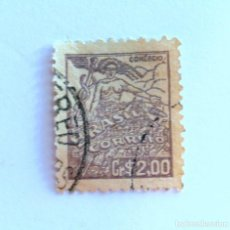 Sellos: SELLO POSTAL BRASIL 1946, 2,00 CR , COMERCIO, USADO. Lote 151213074