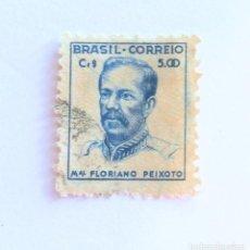 Sellos: SELLO POSTAL BRASIL 1946, 5 CR ,MARSHAL FLORIANO PEIXOTO, USADO. Lote 151218162