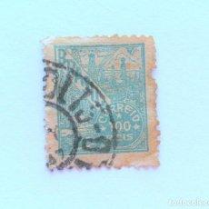 Sellos: SELLO POSTAL BRASIL 1941, 100 RS, PETROLEO , USADO. Lote 151235178