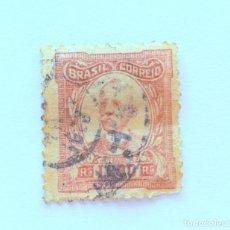Sellos: SELLO POSTAL BRASIL 1926, 1,000 RS, RUI BARBOSA , USADO. Lote 151236474