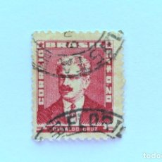 Sellos: SELLO POSTAL BRASIL 1961, 0,20 CR, OSWALDO CRUZ, USADO. Lote 151240934