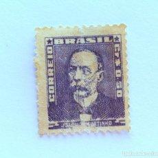 Sellos: SELLO POSTAL BRASIL 1954, 0,50 CR, JOAQUIM MURTINHO, SIN USAR. Lote 151243086