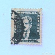 Sellos: SELLO POSTAL BRASIL 1954, 0,30 CR, OSWALDO CRUZ, USADO. Lote 151243454