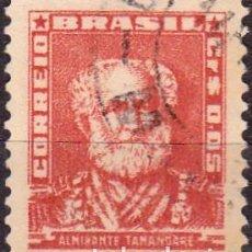 Francobolli: 1954-56 - BRASIL - ALMIRANTE TAMANDARE - YVERT 576. Lote 151266298