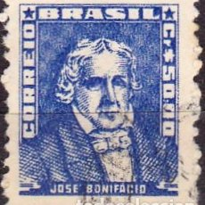 Francobolli: 1959-60 - BRASIL - JOSE BONIFACIO - YVERT 679. Lote 151276086