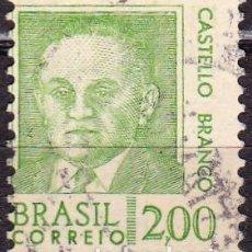 Francobolli: 1968 - BRASIL - ANTIGUOS PRESIDENTES - CASTELLO BRANCO - YVERT 846. Lote 151284506