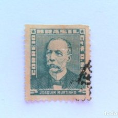 Sellos: SELLO POSTAL BRASIL 1954, 0,60 CR, JOAQUIM MURTINHO , USADO. Lote 151303114