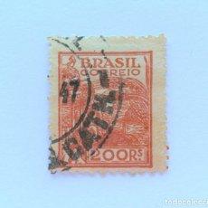 Sellos: SELLO POSTAL BRASIL 1941, 200 RS, AGRICULTURA , USADO. Lote 151305370