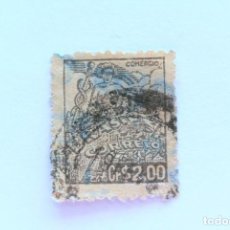 Sellos: SELLO POSTAL BRASIL 1946, 2,00 CR, COMERCIO, USADO. Lote 151311066