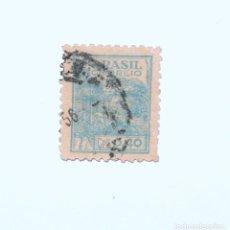 Sellos: SELLO POSTAL BRASIL 1946, 0.40 CR, AGRICULTURA, USADO. Lote 151401934