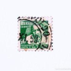 Sellos: SELLO POSTAL BRASIL 1958, 10 CTS, PADRE BENTO, USADO. Lote 151405762