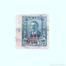 Sellos: SELLO POSTAL BRASIL 1928, 2000 REIS , WENCESLAU BRAZ, USADO. Lote 152830226