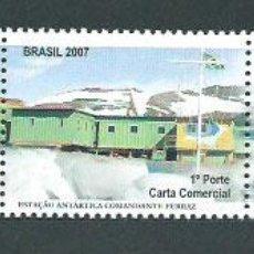 Sellos: BRASIL - CORREO 2007 YVERT 2970/2 ** MNH AÑO POLAR. Lote 153295109