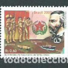 Sellos: BRASIL - CORREO 2007 YVERT 2989 ** MNH PERSONAJE. Lote 153295121