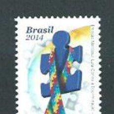 Sellos: BRASIL - CORREO 2014 YVERT 3324 ** MNH. Lote 153295246