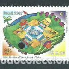 Sellos: BRASIL - CORREO 2007 YVERT 2990 ** MNH UPAEP. Lote 153295125