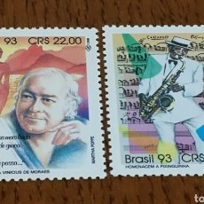 Sellos: BRASIL :2138/39 MNH, MÚSICA, COMPOSITORES. Lote 154912922