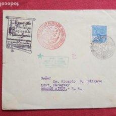 Sellos: 1940.2ª EXPOSICION FILATELICA JUVENIL.BELLO HORIZONTE.BRASIL.CENTENARIO DEL SELLO POSTAL.. Lote 155690986