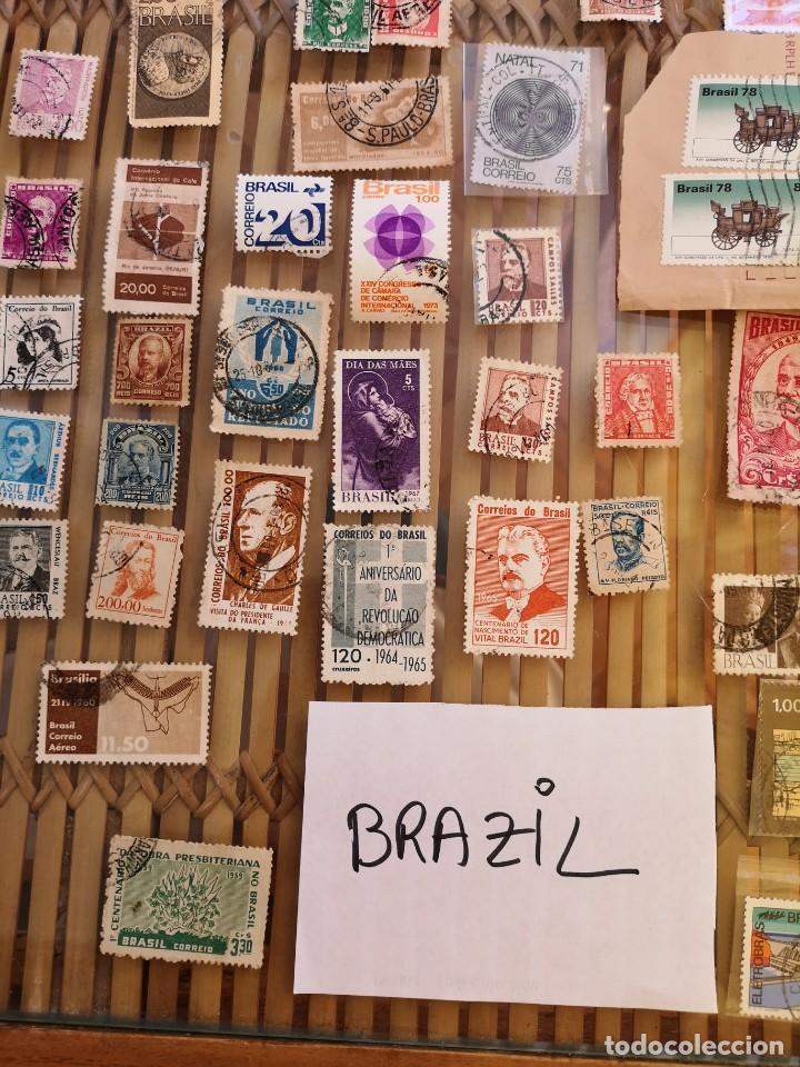 LOTE DE SELLOS ANTIGUOS DE BRASIL ,NO SE DESCOMPLETA EL LOTE (Sellos - Extranjero - América - Brasil)