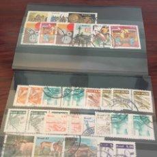 Sellos: BRASIL, CONJUNTO DE SELLOS USADOS MUY BONITOS. Lote 159844196