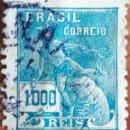 Sellos: SELLO BRASIL 1000 REIS 1910. Lote 160268881