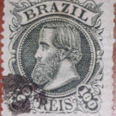 Sellos: SELLO BRASIL 100 REIS. Lote 205717627
