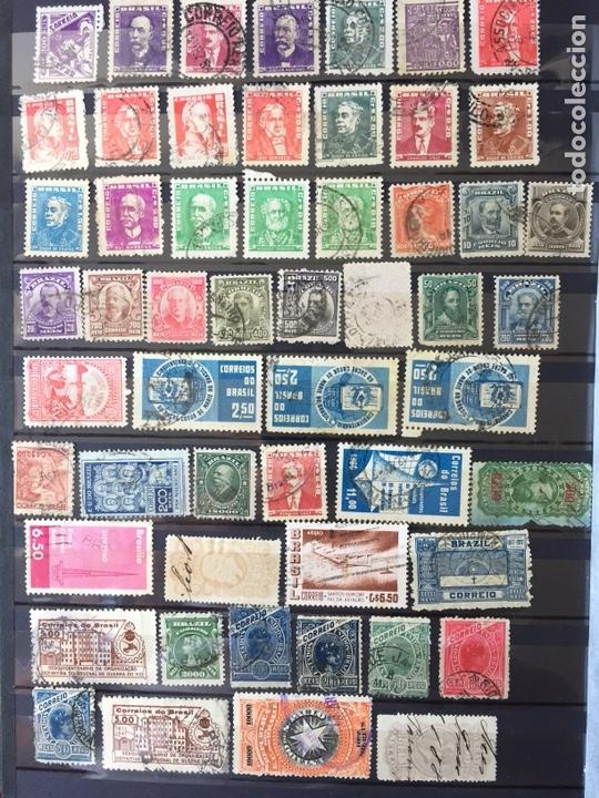 Sellos: Sellos clásicos Brasil lote 200 Sellos usado - Foto 3 - 161670837