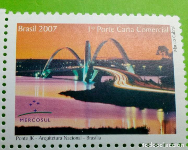 BRASIL 2007- ARQUITECTURA,PONTE JK. NOVO (Sellos - Extranjero - América - Brasil)
