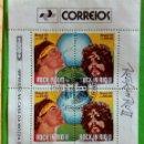 Sellos: BRASIL 1991. ROCK IN RIO. NEW. Lote 168222712