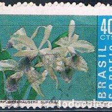 Sellos: BRASIL 1971 SELLO YVES 969 USADO SERIE. Lote 171359564