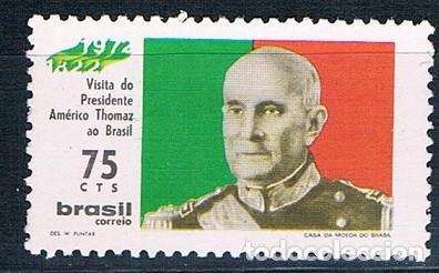 BRASIL 1972 SELLO NUEVO YVES 983 MNH** (Sellos - Extranjero - América - Brasil)