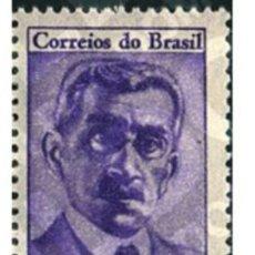 Sellos: BRASIL 1964. CENTENÁRIO DO NASCIMENTO DO ESCRITOR COELHO NETO.. Lote 176497679