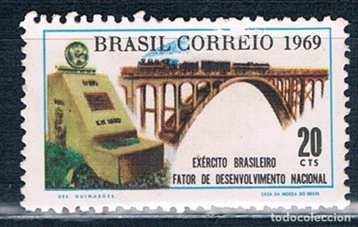 Sellos: BRASIL SELLOS NUEVOS MNH* Y USADOS VARIAS FOTOGRAFÍAS (12) - Foto 8 - 177956852