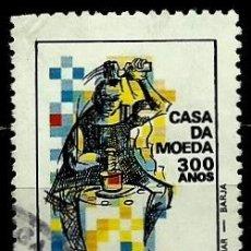 Sellos: BRASIL SCOTT: 2508 (300 AÑOS, CASA DE LA MONEDA DE BRASIL) USADO. Lote 179315010