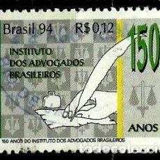 Sellos: BRASIL SCOTT: 2511 (150 AÑOS DEL INSTITUTO DE ABOGADOS) USADO. Lote 179315405