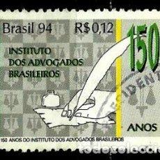 Sellos: BRASIL SCOTT: 2511 (150 AÑOS DEL INSTITUTO DE ABOGADOS) USADO. Lote 179315470