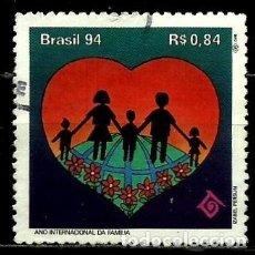Sellos: BRASIL SCOTT: 2512 (DÍA INTERNACIONAL DE LA FAMILIA) USADO. Lote 179315623
