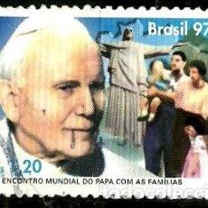 Sellos: BRASIL SCOTT: 2645 (II ENCUENTRO MUNDIAL DEL PAPA CON LAS FAMILIAS) USADO. Lote 179331631