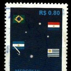 Sellos: BRASIL SCOTT: 2646 (MERCOSUR) USADO. Lote 179331691