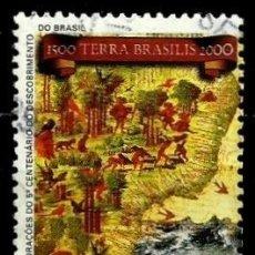 Sellos: BRASIL SCOTT: 2670 (500 ANIV. DEL DESCUBRIMIENTO DE BRASIL) USADO. Lote 179331995