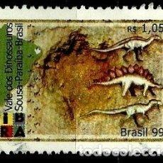 Sellos: BRASIL SCOTT: 2709 (VALLE DE LOS DINOSAURIOS, SOUSA - PARAÍBA) USADO. Lote 179333007