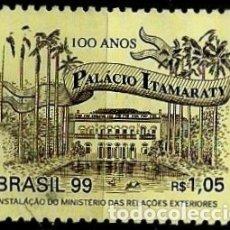 Sellos: BRASIL SCOTT: 2731 (CENTENARIO DEL PALACIO DE ITAMARATY) USADO. Lote 179333095