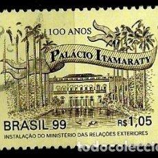 Sellos: BRASIL SCOTT: 2731 (CENTENARIO DEL PALACIO DE ITAMARATY) USADO. Lote 179333131