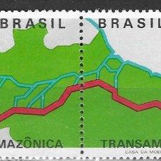 Sellos: BRASIL Nº 955 AL 956 (**). Lote 183383782