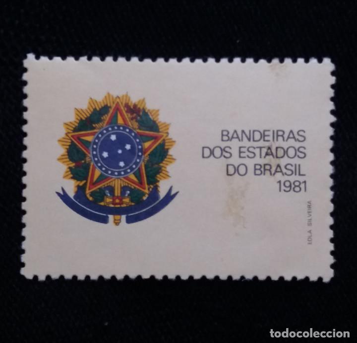 CORREO DE BRASIL, BANDERA ESTADO DE BRASIL, 1981. NUEVO (Sellos - Extranjero - América - Brasil)