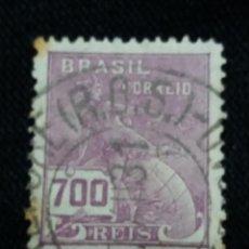 Sellos: CORREOS, BRASIL 300 REIS, AÑO 1930, SIN USAR. Lote 183720883