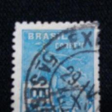 Sellos: CORREOS, BRASIL 1000 REIS, AÑO 1936, . Lote 183721345