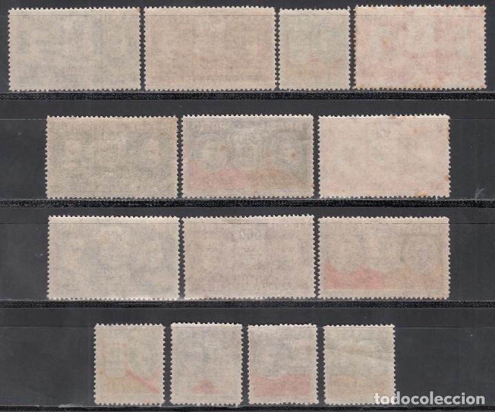 Sellos: BRASIL, 1931 YVERT Nº 221 / 234 /*/, Victimas de la Revolución del 3 Octubre 1930 - Foto 2 - 191833698