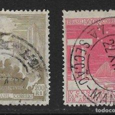 Sellos: BRASIL - CLÁSICOS. YVERT NSº 219/20 USADOS. Lote 195335683