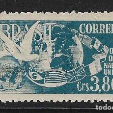 Sellos: BRASIL. YVERT Nº 518 NUEVO. Lote 196013803